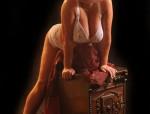 Molly Blondine aus Sachsen- Sie ist 39 Jahre un