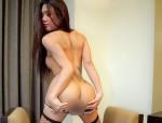 Diese scharfe Transe hat einen weiblichen, sex