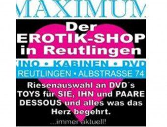 1. Bild von  Maximum Erotikmarkt  in Reutlingen