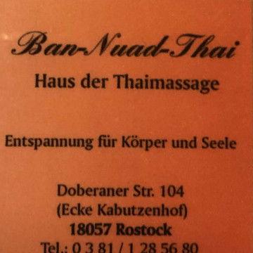 Ban Nuad Thai in Rostock